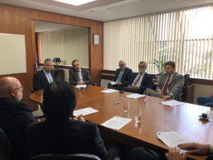 Deputado Julio Lopes se reúne na Anoreg/RJ para apresentar Projeto de Lei