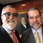 Renaldo Bussière participa de eventos com Presidente do STF