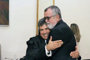 Presidente da Anoreg/RJ na posse do novo presidente do TRE/RJ