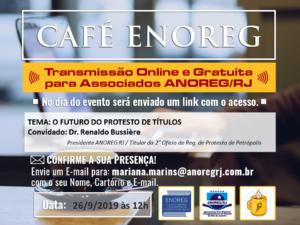 Café ENOREG – O Futuro do Protesto de Títulos