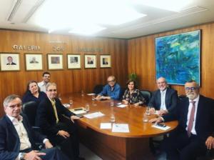 Renaldo se reúne com representantes do Patrimônio da União – SPU/RJ