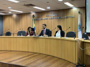 Corregedoria da Justiça promove palestras sobre legislação e atividade notarial e de registros públicos