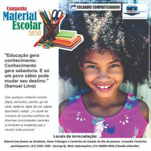Campanha Material Escolar 2020