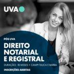 Pós-Graduação em Direito Notarial e Registral da UVA – Início das aulas 28.03