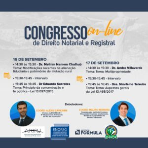 Congresso online de direito notarial e registral