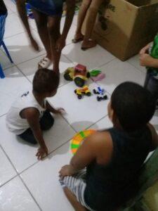 Ações sociais em prol da educação de crianças