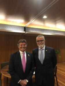 Presidente da Anoreg/RJ participa de homenagem ao Ministro Luiz Fux